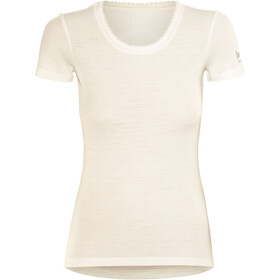 super.natural Scarlett Rib SS Shirt Women, fresh white